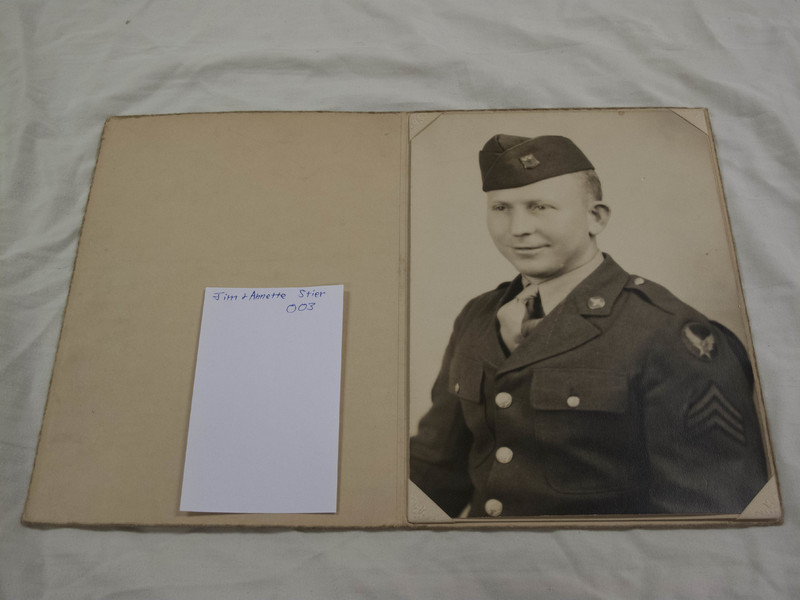 Alex Stier U.S. Army Air Corp Photo