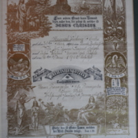 German-Language Baptism Certificate