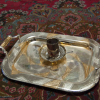 Tea and Tray Set from Iraq