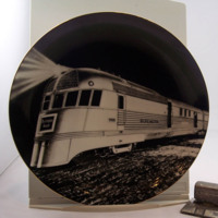 """The Pioneer Zephyr - 1934"" Burlington Northern Santa Fe Railway 2004 Limited Edition Plate"