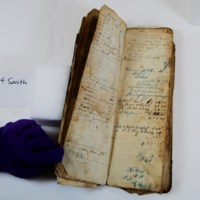 Daybook of Benjamin Franklin Thomas: Accounting Pages