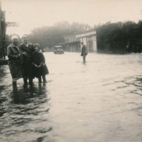 Photograph of the Flood of 1932