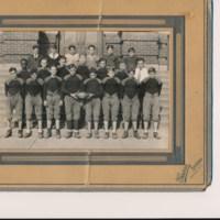 1931 Football Team Photograph
