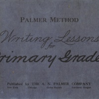 Palmer Method Writing Lesson For Primary Grades