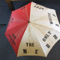 "Nebraska ""White Spot of the Nation"" Umbrella"
