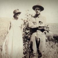 1919 Esther and CJ Seidel WWI times.JPG