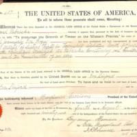 Timber-Culture Certificate