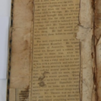 """Benjamin Franklin Thomas' Daybook: Article about """"An Elephant Tamer"""""""