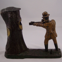 "Otoe County Museum – ""Teddy and the Bear"" Mechanical Coin Bank Interview"