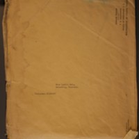 Federal Bureau of Investigation Envelope & Letter