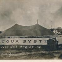 Chautauqua Tent in Minden, Nebraska
