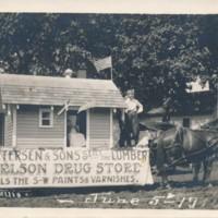 Petersen Lumber Postcard