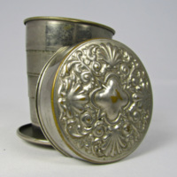 Slavery Artifacts: Metal Folding Cup