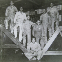 Ralph Orduna and Colleagues at the Martin Bomber Plant