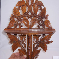 A Mahogany Decorative Piece