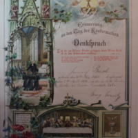 German-Language Confirmation Certificate