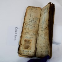 Daybook of Benjamin Franklin Thomas: Accounting Pages and Poem