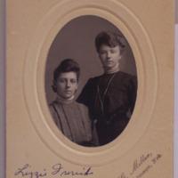 Elizabeth Frerichs and Her Friend Christie Mesigaclis